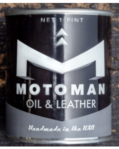 Motoman Oil & Leather Geurkaars