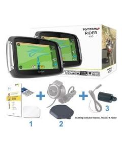 TomTom Rider 40/400/410/450/550 Essential Pack DeLuxe